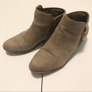 Maurices Tan Ankle Booties
